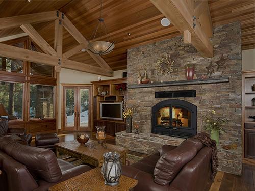 wilkening wood fireplace